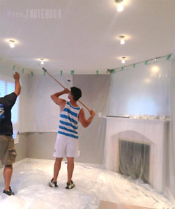Free Popcorn ceiling removal. Drywalling.