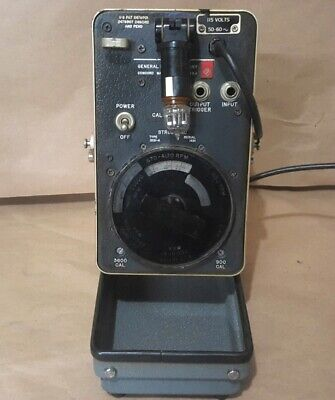 General Radio Company Strobotac Type 1531-a Lab Grade Tachometer