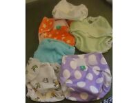 Reusable and washable nappies