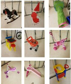 Kids toys and playthings