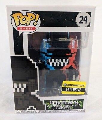 Funko Pop Xenomorph Alien Video Game Deco 8 Bit Pop Vinyl Figure Exclusive   Mib