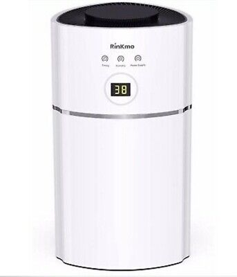 RINKMO Portable Mini Dehumidifiers 1 Pint Capacity Compact and Quiet with Aut...