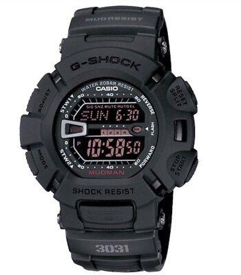 BRAND NEW CASIO G-SHOCK G9000MS-1 MUDMAN DIGITAL BLACKOUT MENS WATCH NWT!!!