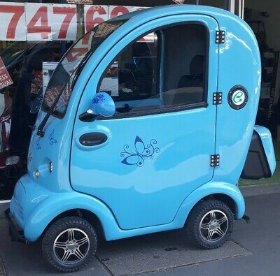 SCOOTAPAC CABIN CAR MOBILITY SCOOTER BUBBLE CAR 8MPH ROAD SCOOTER