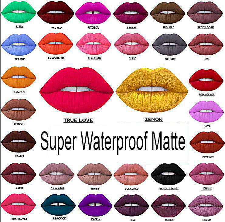 Beauty Waterproof Long Lasting Lip Liquid Pencil Matte Lipstick Makeup Lip Gloss