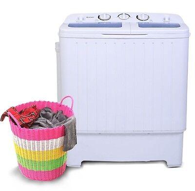 غسالة و مجفف ملابس جديد Apartment Washer and Dryer Combo Set All In One Washing Portable Machine Wash Up