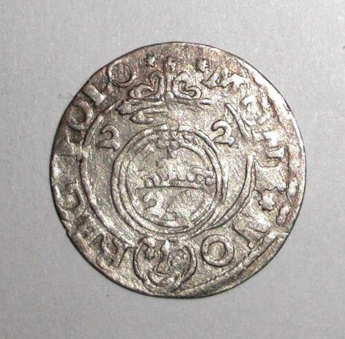 1622 Medieval Poland, Sigismund III. AR poltorak