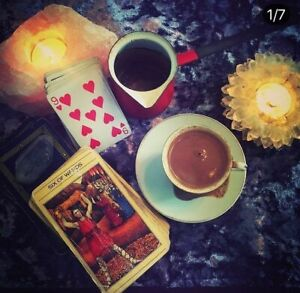 Intuitive Tarot & Turkish Coffee Cup Reading.