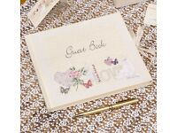 Brand New - Wedding Guest Book - With LOVE