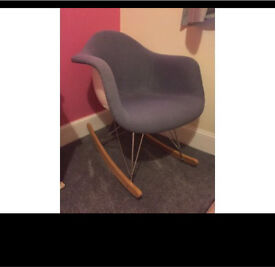 Eames Reproduction RAR upholstered chair