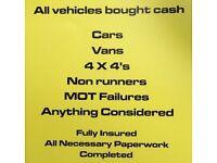 S+J scrap car buyers