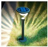 Garden Solar Power Landscape Path Bollard Lights 220119