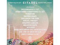 Citadel Festival 2017!