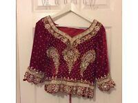 Indian designer wedding outfit