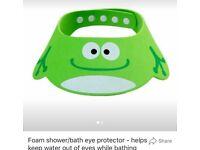 Foam hair-wash eye protector / sun shade - brand new