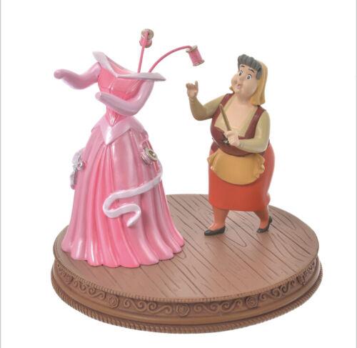 Disney Store Japan Flora Pink Dress Figure Sleeping Beauty Story Collection