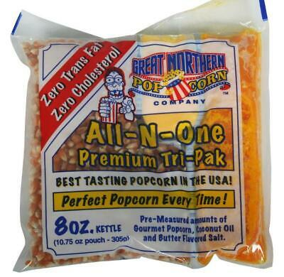 Great Northern 8 oz. Popcorn Portion Packs  Orange Modern &