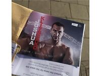 2x Anthony Joshua vs Klitschko boxing tickets