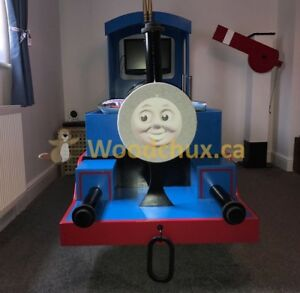 ♥‿♥ .. THOMAS the TRAIN Twin Size Bed .. ♥‿♥
