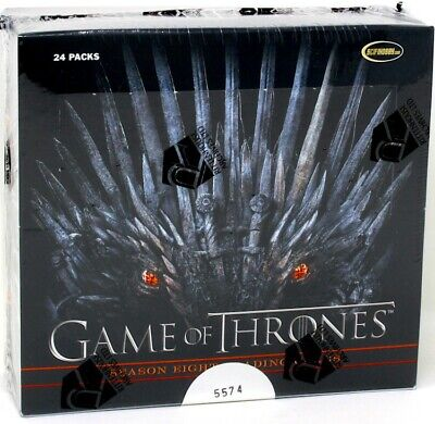 GAME OF THRONES SEASON 8 TRADING CARDS BOX BLOWOUT CARDS