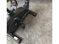 Roger black exercise bike used once - perfect condition