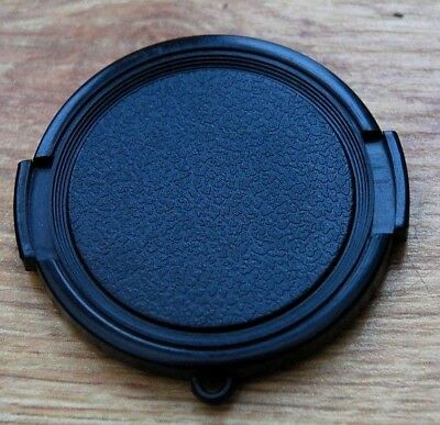 LENS CAP 52MM BLACK UNIVERSAL FRONT COVER NIKON CANON MINOLTA A TRUE UK SELLER