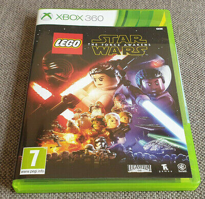 Microsoft Xbox 360 Game Lego Star Wars The Force Awakens New Sticker Sealed