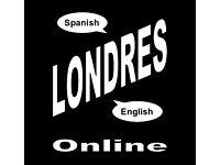Native Spanish - Native English - ZOOM Online Language Exchange - Tuesday 19th October