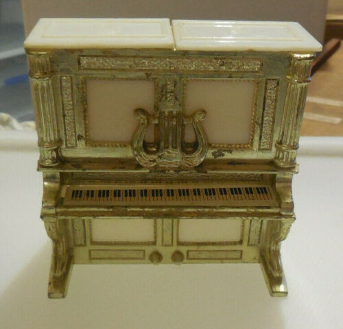 Vintage Salt & Pepper Shakers -  Piano