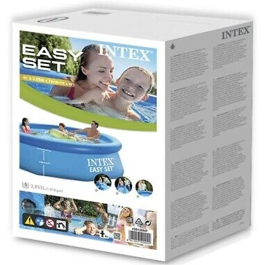 Intex 10ft x 30in Easy Set Above Ground Pool with Filter Pump *FREE SHIPPING*