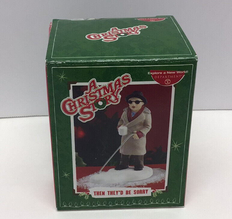 """Department 56 - A CHRISMAS STORY Village Accessory - """"Then They"""