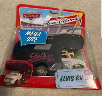 DISNEY CARS ELVIS RV MEGA SIZE RACE O RAMA DIE-CAST NEW SEALED RV CLUB