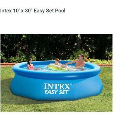 Intex 10 '  X 30 ' Easy Set  Swimming Pool new No Puerto Rico