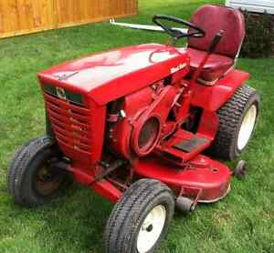 I want a running rider mower - will pay up to $100.