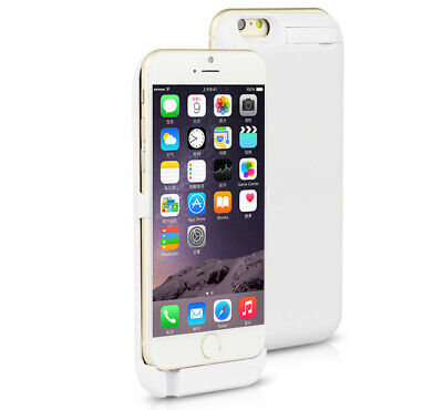 For iPhone 6 6S Plus Battery Charging Case 8200mAh Extended Power Bank Charger