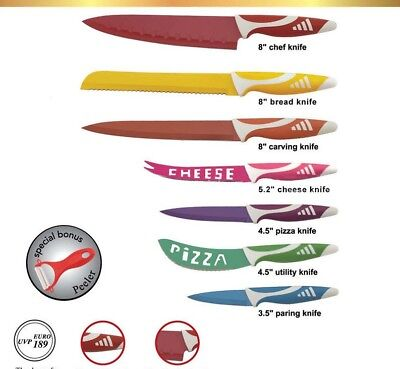 Set de couteaux en acier inoxydable 8 pcs.