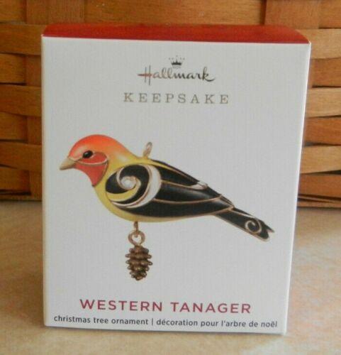 Hallmark 2020 Western Tanager Beauty of Birds Miniature Keepsake Ornament