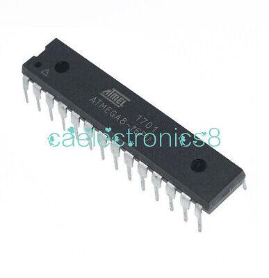 Atmel Atmega8-16pu Atmega8 16pu Dip28 Dip-28 Ic Chips