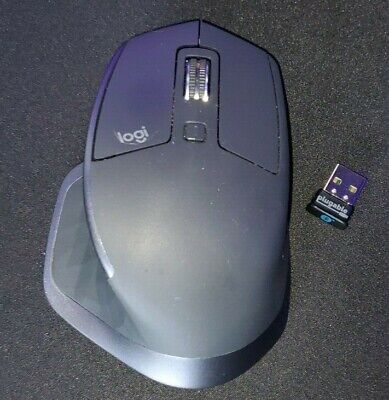 Logitech MX Master 2s Wireless Computer Laser Mouse with  Bluetooth receiver