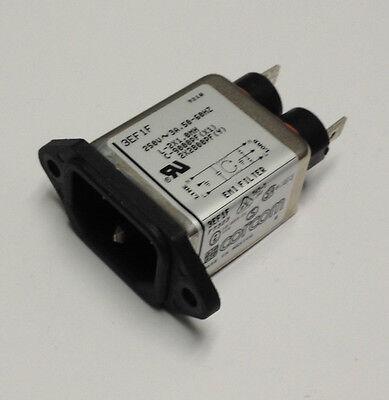 CORCOM 3EF1F,  RFI POWER LINE FILTER, 3A, 360UA Corcom Rfi Filter
