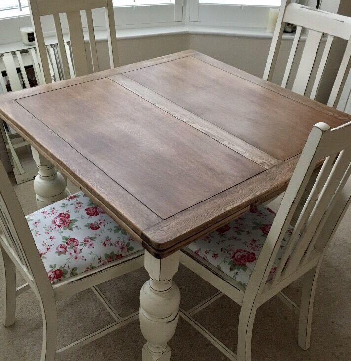 Vintage 1940 S Extending Dining Table Chairs In Gateshead Tyne