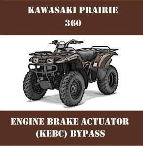 Actuator For Kawasaki Prairie