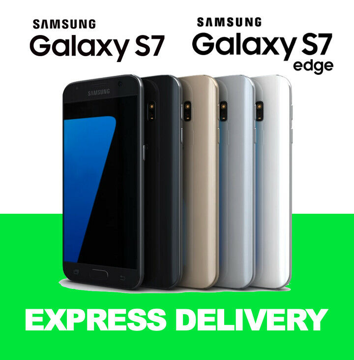 Android Phone - Samsung Galaxy S7 S7 Edge 32GB Factory Unlocked Smartphone Used Imperfect