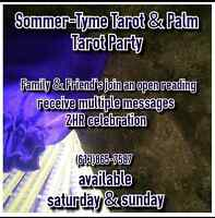 Tarot Palm Reading Party