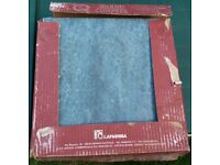 NEVER USED 20 x LaFaenza Marmo Comprex blue porcelain tiles 325mm x 325mm