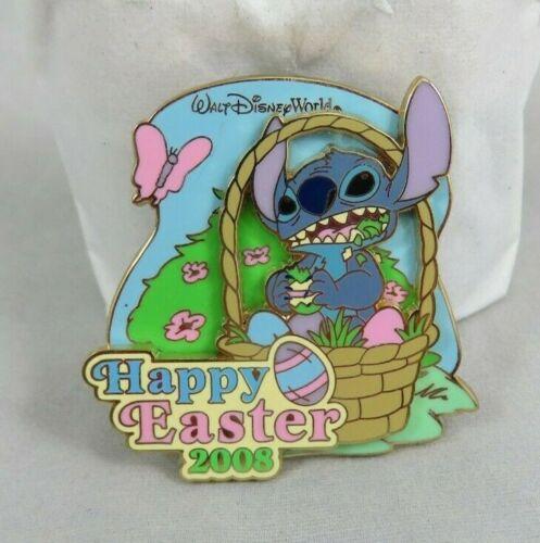 Walt Disney World Pin - Happy Easter 2008 - Stitch