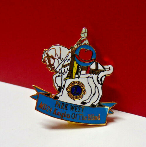 Park West MD24 KNIGHTS OF THE BLIND Lions Club Metal Pin