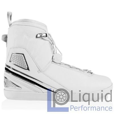 HO Sports V-Max White Edition Left Waterski Binding Size 12/13 (64000606)