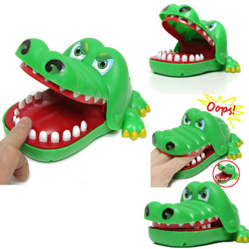 Toys For Biting : Crocodile mouth dentist bite finger game funny gags toy