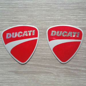 Foil Stickers For Ducati  Reflect Motocross For Helmet Logo Badge Decal Emblem